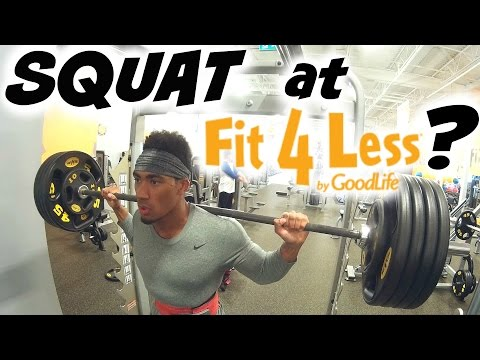 Fit For Less >> Can You Squat At Fit For Less Youtube