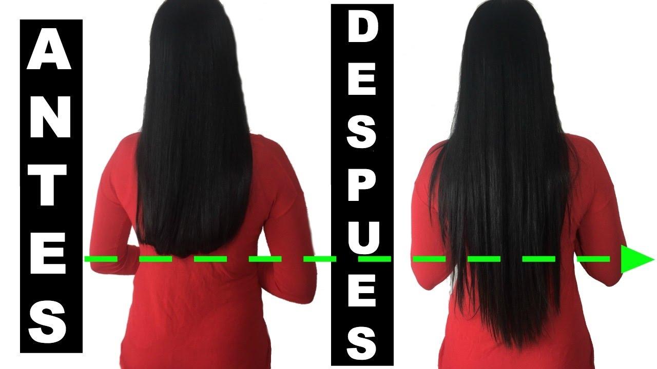 como hacer crecer mi cabello en un mes