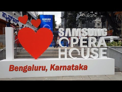 Samsung Opera House Tour (in Hindi) - world's largest mobile experience centre in Bengaluru