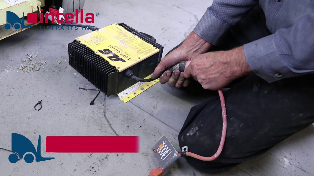 how to replace a jlg charger delta q version intella liftparts [ 1280 x 720 Pixel ]