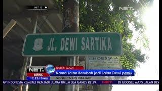 Nama Jalan Berubah jadi Jalan Dewi Persik di Google Maps - NET12