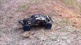 OBR 57cc Twin on Methanol