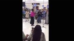 "The Joybells of Axton Va singing ""Just Jesus"" in Wal Mart"