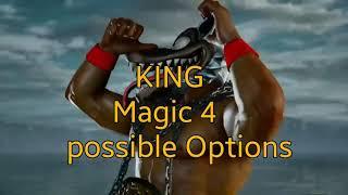 Tekken 7 fr - KING Magic 4 All Possible Combos   Options