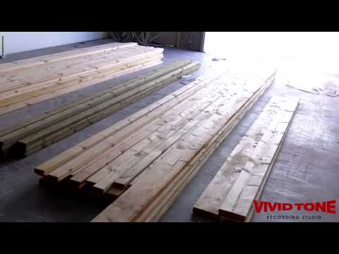 06 Vivid Tone Recording Studio build - Material delivery