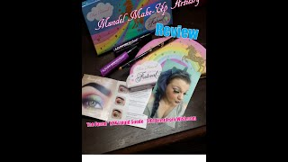 Mundel Make-up Artistry Reviews Too Faced beauty unicorn palette
