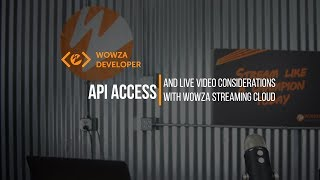 Wowza Streaming Cloud with Ultra Low Latency API Demo