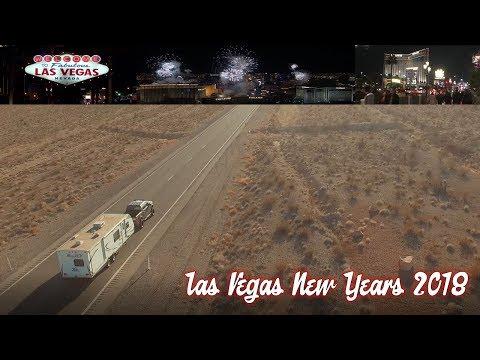 Las Vegas New Years Eve 2018, Fireworks drone, oasis rv resort