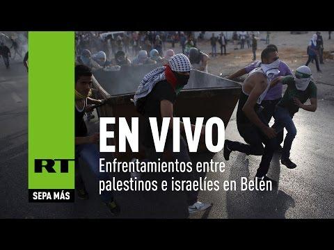 EN DIRECTO:  Enfrentamientos Entre Palestinos E Israelíes En Israel