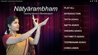 Natyarambham - Learning Adavus in Bharatanatyam