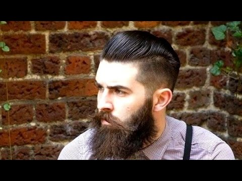 High Quality Mens Hairstyles Short Sides Ponytail