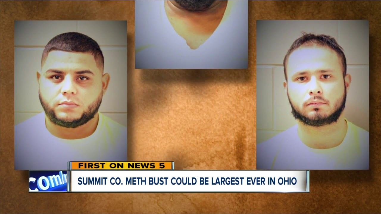 Ohio's largest meth bust: 140 pounds of methamphetamine seized from  warehouse in Summit County