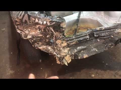 1997 Chevy Cavalier Aftermath