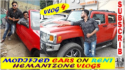 LUXURY CARS ON RENT 2000 RS ONWARDS  (HUMMER, LIMOUSINE, ROLLS ROYCE, BENTLEY, MERCEDES) VLOG-4