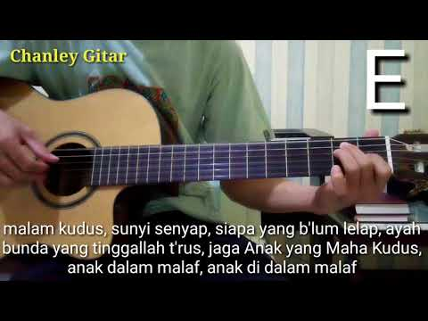 Belajar Gitar - Malam Kudus