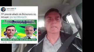 Jair Bolsonaro desmarcara mais uma da tentativa da Globo de sujar seu nome