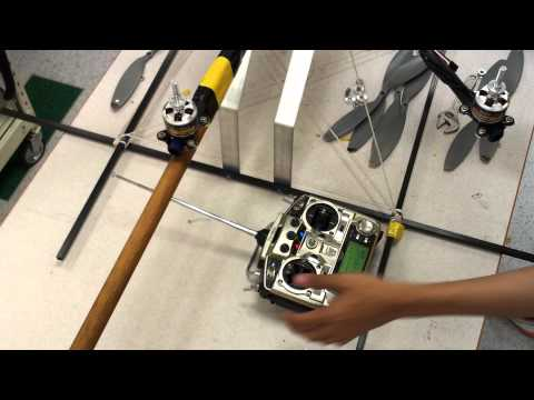 Octocopter ESC Calibration