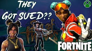 Fortnite sera-t-il SUED pour COPYING APEX LEGENDS - SEA OF THIEVES!!? | Fortnite: Bataille Royale