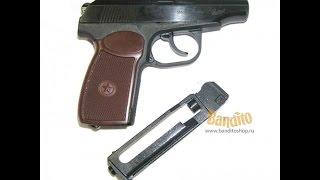 Пневматичний пістолет Макаров МР-654К Baical огляд, пробивна здатність МР-654К