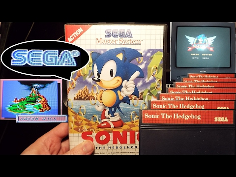Sonic The Hedgehog (7076), Sega Master System, Longplay, Completed, 1991, sms, gameplay, end