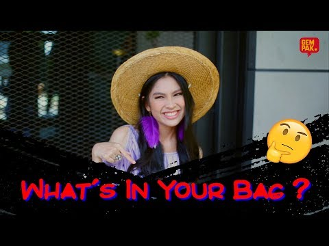 [ THE HOUSE 5 ] - What's In Your Bag ( Sissy Imann )