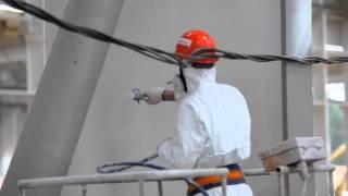 Огнезащитная обработка металла на складе(, 2016-03-21T08:21:55.000Z)