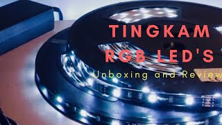 Tingkam 65.6ft RGB Strip - Unboxing and Review!
