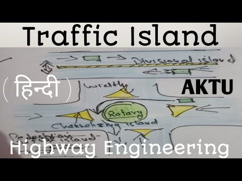 Traffic island | Types of traffic island | Highway engineering