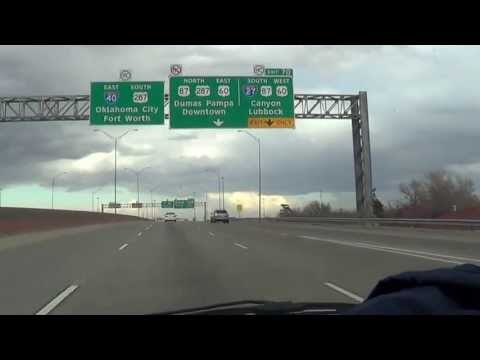 134-Driving in Amarillo, TX
