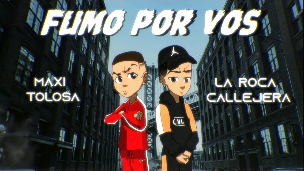 Maxi Tolosa, La Roca Callejera - Fumo por Vos (Video Lyric)