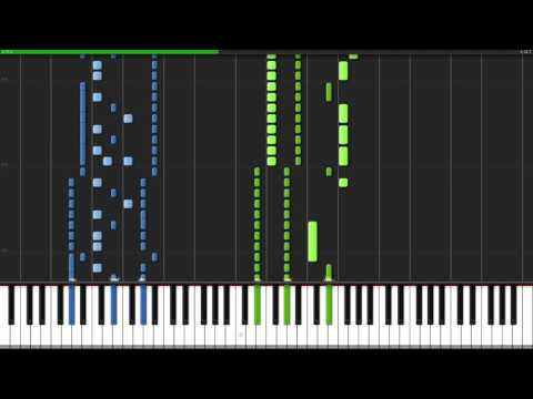 Through the Fire and Flames - Dragonforce [Piano Tutorial] (Synthesia) // John Yang Piano