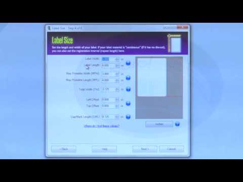 How to Format a New Label in Custom QuickLabel Software