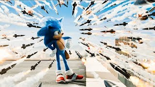 Sonic The Hedgehog 'Rooftop Missile Chase' Movie Clip 8/10 (2020) HD
