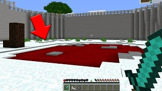 We found the RED POOL in Minecraft at 3:00 AM... (Scary Minecraft Video)