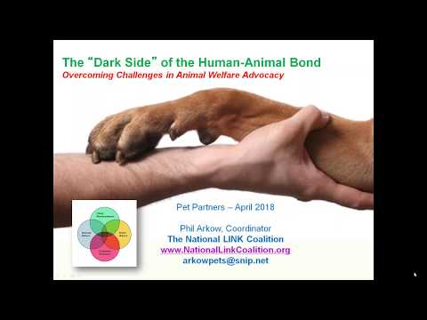 Pet Partners Webinar: The 'Dark Side' of the Human Animal Bond - Legislative Solutions