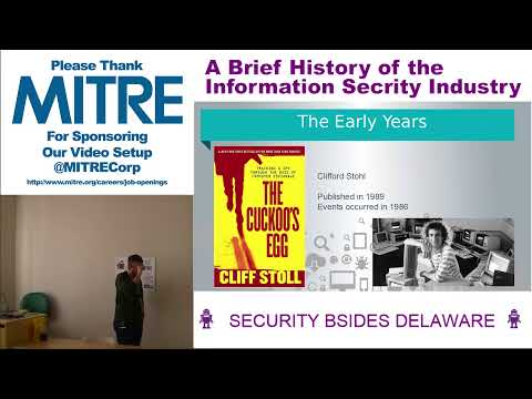 A Brief History of the Information Security Industry