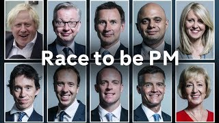 Tory leadership candidates launch campaigns