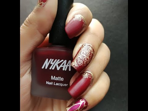 HINDI -  Bridal Nail Art/ Indian Wedding Nail Art Design