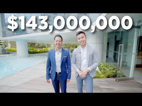 "Penthouses: 3 Far East ""Inessence"" Penthouses worth $143 MILLION in Singapore (Luxury)"