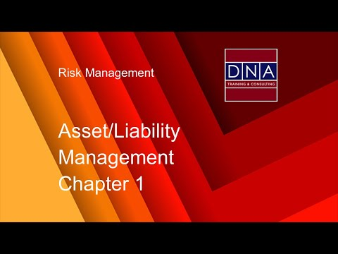 Asset/Liability Management  - Chapter 1