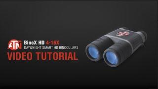 ATN Binox-HD Video Tutorial | Digital binoculars Instructional video 2016