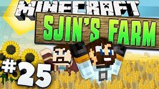 Minecraft - Sjin's Farm #25 - Pulling an all nighter!