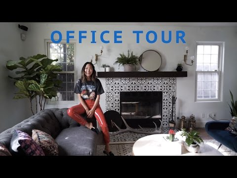 New Office Tour & Unboxing Packages | Song of Style