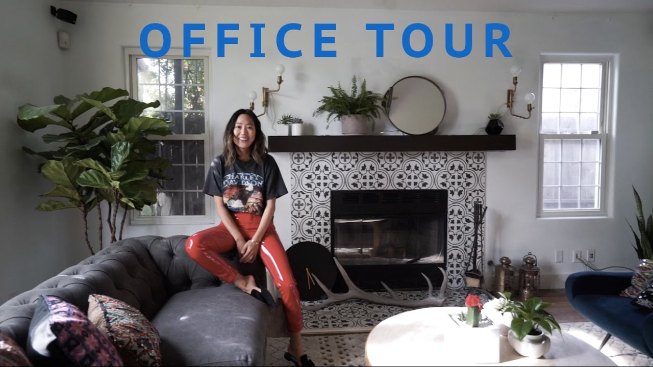 New Office Tour Unboxing Packages Song Of Style YouTube