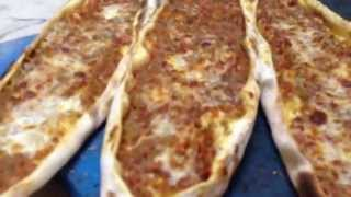 Master Class... Pide  Ve  Lahmacun / Turkish Street Food Similar To Pizza