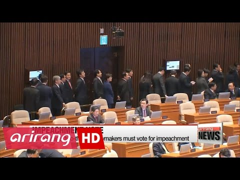 Possible scenarios after National Assembly votes on impeachment motion on President Park