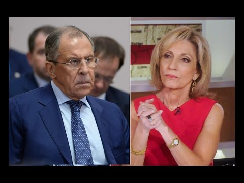 Russian Foreign Minister Insults State Dept. Reporter Andrea Mitchell