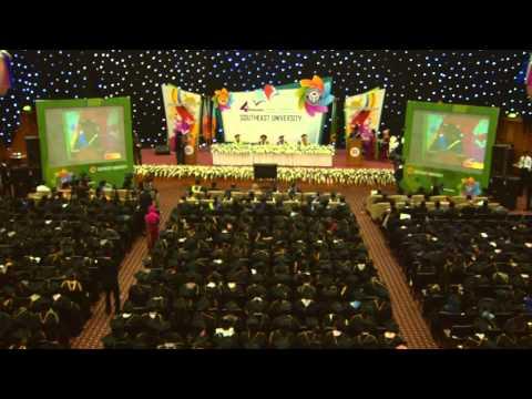 4th Convocation of Southeast University (SEU) Part 2(full v)
