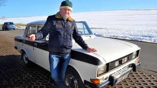 Дедок из Германии знает толк в машинах - Москвич 2140, 1976 года выпуска