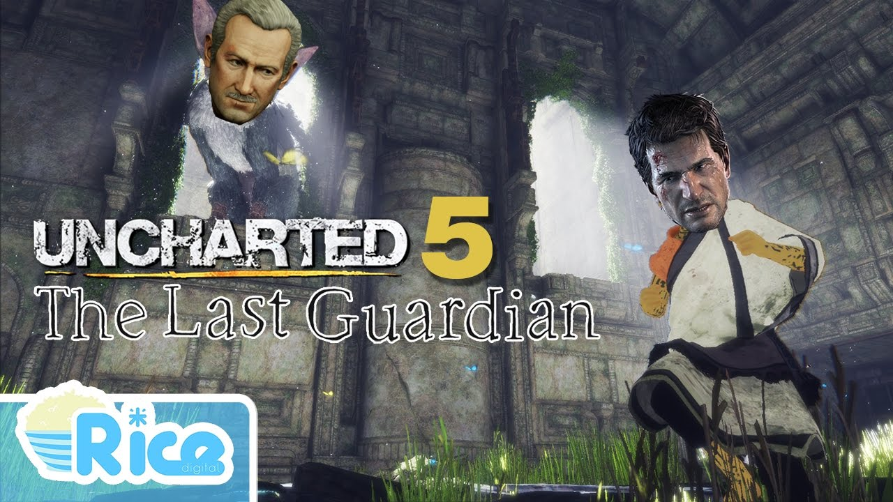 Uncharted 5 The Last Guardian Nathan Drake Overdubbing Tlg